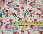 Retro Candy Shop Kids Sweets YARDS on Cream off White Michael Miller Cotton Fabric