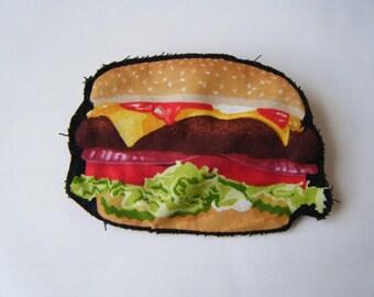 Brooch - Hamburger - small model