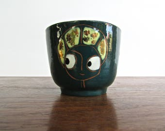 Chawan Studio Pottery Teacup, Fantatsic Modern Uptake on Traditional Japanese Form