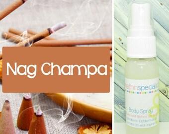 Nag Champa Body Spray, Room Spray, Kids Spray, Bath Spray, Blanket Spray, Alcohol Free Spray, Hair Perfume, Bathroom Spray, Car Spray