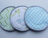 LARGE 5.5 inch, Charis Baby Designs, 3 pairs, Nursing  Pads, reusable nursing pad, heavy absorbency, breast pads