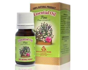 100% Pure Pine Essential Oil 10 ml 0.33 oz Undiluted Therapeutic Grade