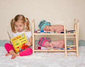 Indoor Play Toys * Indoor Play Set * Indoor Play Kids * Quiet Toy Activity * Quiet Toys For Kids * Photo Booth Prop * Newborn Prop Bed Twins