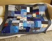 FOR TANYA   Memory Quilt from shirts custom order