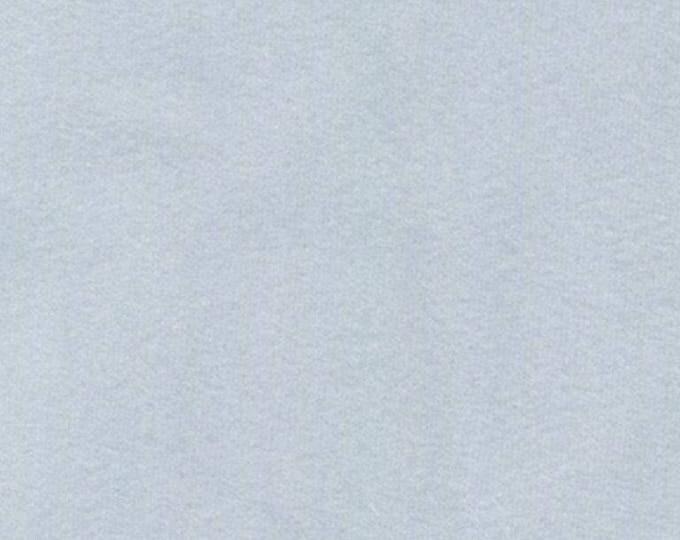 Super Soft LIGHT BLUE GRAY Washable Velvet Fabric Multipurpose Drapery Apparel Home Decor