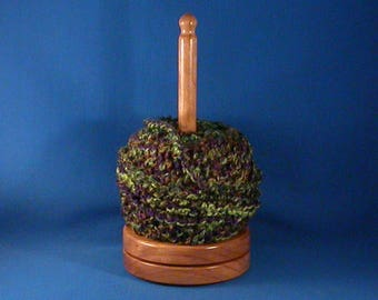 Cherry Yarn/Thread Holder - Satin Acrylic Finish