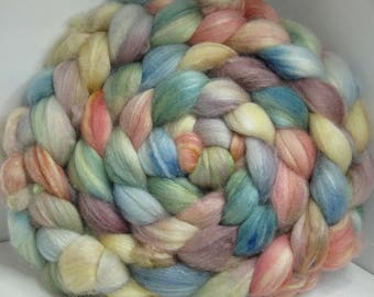 Sale Optim, Camel, Bombyx Silk 40/40/20 Roving Combed Top - 5oz - Soft Sea 3