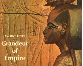LIFE MAGAZINE, May 31 1968 Ancient Egypt Grandeur of Empire Issue, Antique issue of Life magazine, Almost antique issue of Life magazine,