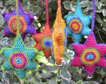 Wigglytuff's Crochet Star Mobile