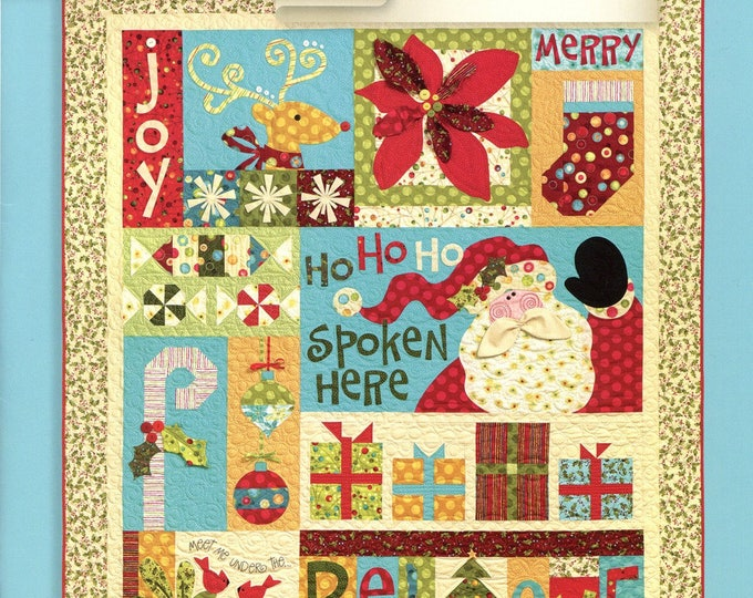 CHRISTMAS QUILT BOOK, Christmas Favorites Art To Heart Book by Nancy Halvorsen
