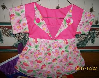 Flower Handmade Clothes Pin Bag