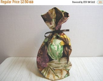 CLEARANCE SALE Fabric Gift Bag Autumn Accents