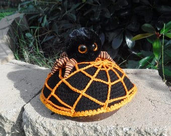 Halloween Turtle Sweater Turtle Cozy Halloween Spider Costume for Turtles/Tortoises  Web and spider Turtle Sweater Web Turtle costume