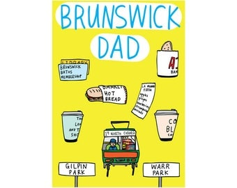 Father's Day Card - Brunswick Dad