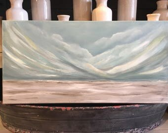 Original Acrylic 10x20 canvas