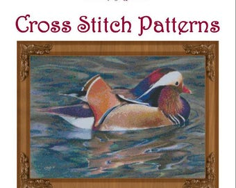 Natures Palette Cross Stitch Pattern