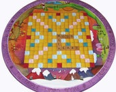 Reserved listing for SidneyMBistro one custom designed Scrabble board lazy susan