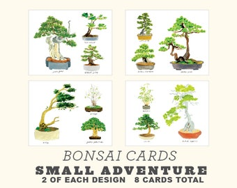 Bonsai Card Set