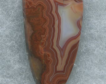 TeePee Canyon Agate Designer Cabochon from the Black Hills of South Dakota