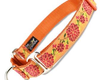 Summer Blossom Martingale Collar