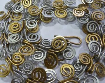 Celtic chain adjustable Sissi steel strand necklace