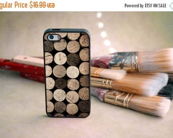 ON SALE Vintage Wine Cork Decorative iPhone Case - Classy, Sophisticated, Fun