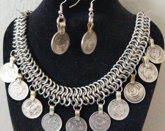 Kuchi Coin Chainmaille set