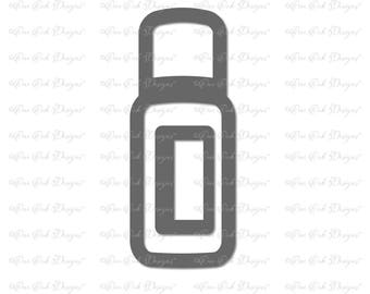 Essential Oil Bottle SVG Cut File  dxf / pdf / png /  jpg for Cricut Explore, Cameo, Scan n Cut and other cutting machines