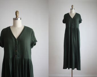 forestry maxi dress