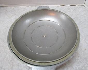 Vintage STREAMLINE ADLER WARE Cast Aluminum Roaster Dutch Oven w/ Lid 10 inch / 6 quart, 2 Piece Set, Clean Grandma's Kitchen