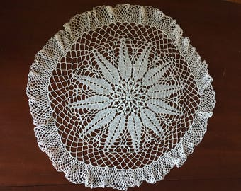 Delicate Vintage Doily/Table Topper