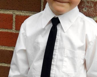 SALE! Black Skinny Tie - Infant, Toddler, Boys- 2 weeks before shipping