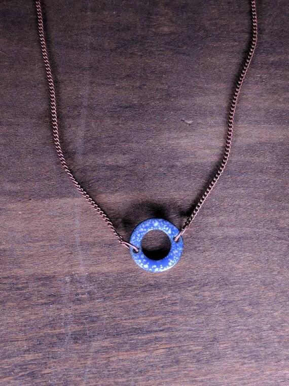 Enamel O- blue