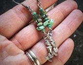 Aquamarine earrings, turquoise earrings, mermaid earrings, silver mermaid, best selling items, trending now, mermaid tail, i love mermaids