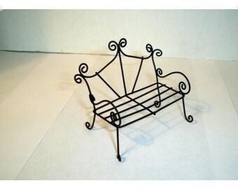 Miniature Garden Bench/ Fairy Garden Supplies/Craft Supplies*