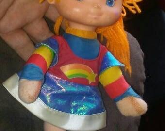 Vintage Hallmark  Rainbow Brite Doll & Pillow