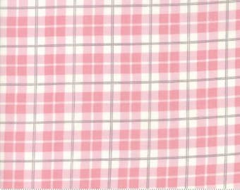 Posh Plaid in Pink LILY and WILL REVISITED by Bunny Hill Designs  Moda 2806 21 pink and brown plaid