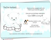 RESERVE FOR 19-5x7 Invitations/17 Birthday Party Invites/2 Grandparent Appreciation/19 colored envelopes