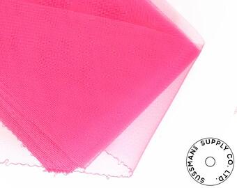 "Crinoline - Crin / Horsehair Braid for Millinery Making & Fascinator - Hot Pink (6"")"