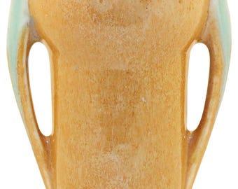Roseville Pottery Orian Tan Vase 733-6