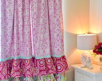 Girls curtains | Etsy