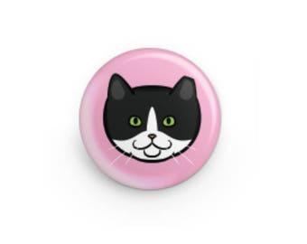Feral Cat Button - Star