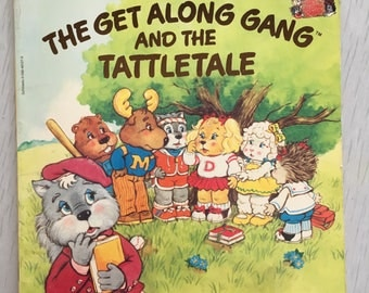 The Get Along Gang children's softcover book 1980s