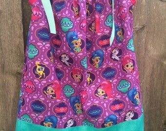 Shimmer and Shine pillowcase  dress