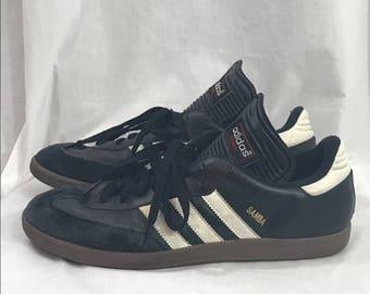 Black Adidas Samba Sneaker Tennis Shoes 10.5