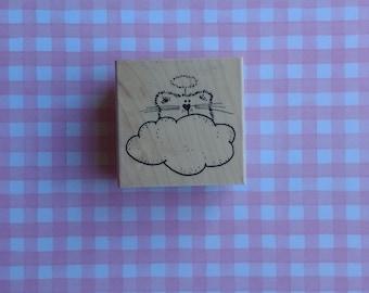 Angel Kitty Stamp