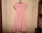 Girls Handmade Cotton Summer Nightgown
