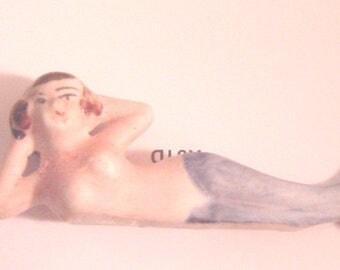Fishbowl Mermaid - Bisque