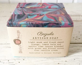 Beguile Artisan Soap - Handmade Soap, Coconut Milk and Cocoa Butter Soap