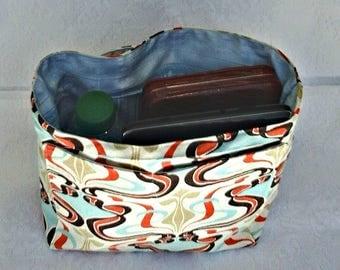 Purse Insert Liner, Diaper Bag Organizer, Purse Organizer Insert, Women's Bag Organizer, Insert Organizer, Handbag Liner w. Pockets, Gift